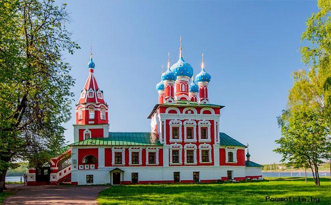 Церковь Царевича Димитрия «на крови» Углич