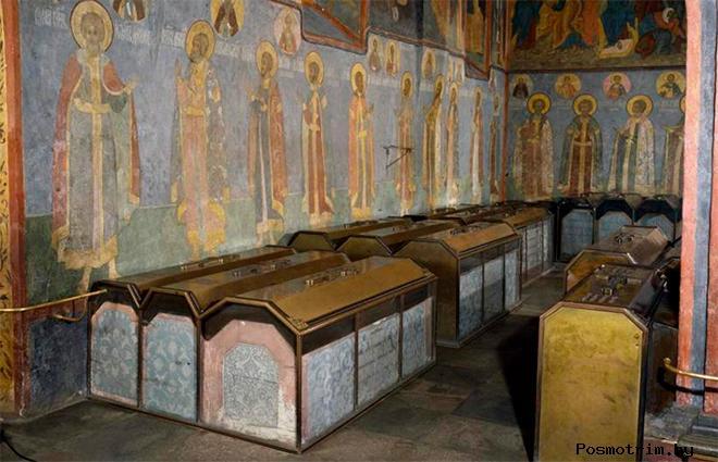 Княжеский некрополь Архангельского собора Нижнего Новгорода