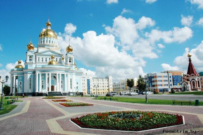 История города Саранск и крепости Саранск