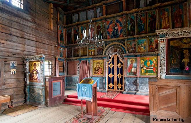 Иконостас Успенской церкви Кондопоги