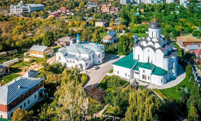 Архитектурный ансамбль Княгинина монастыря Владимира