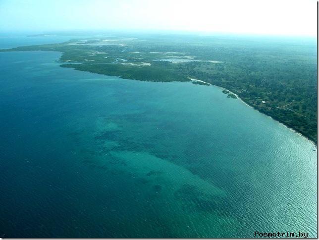 7. Озеро Танганьика Центральная Африка