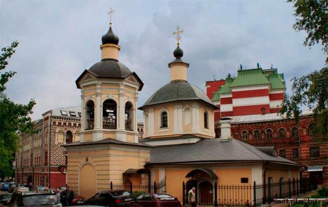 Храм Сергия Радонежского в Крапивниках Москва