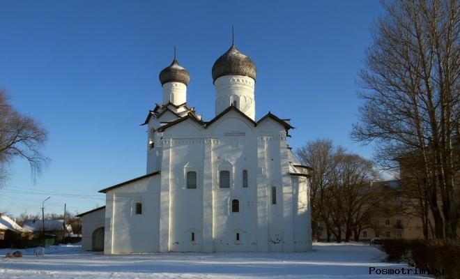 Спасо-Преображенский собор Старая Русса