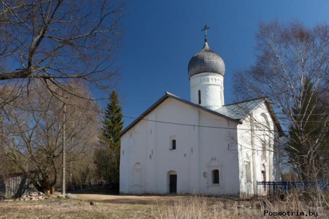 Церковь Благовещения в Аркажах Великий Новгород