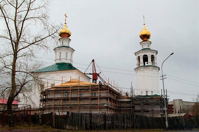 История Свято-Троицкого храма Архангельска