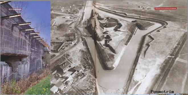 Модернизация фортов оборонительного пояса Брестской крепости в 20 веке.
