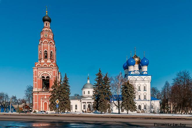 Архангельский собор Бронниц после революции