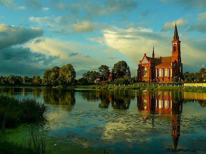 Костел Святого Антония Падуанского Поставы Беларусь фото история описание храма