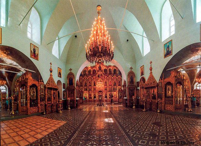 Внутри Троицкого собора Тетюшей