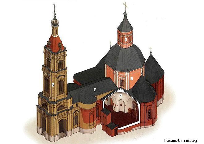Архитектура Федоровской церкви