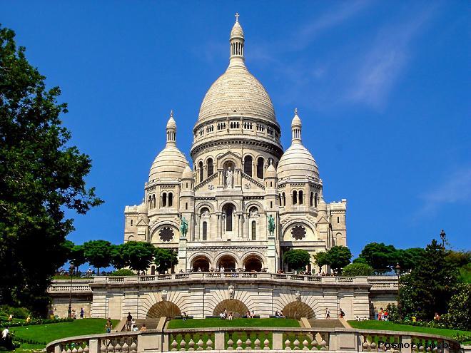 Базилика Сакре-Кёр (фр. Basilique du Sacre Coeur)