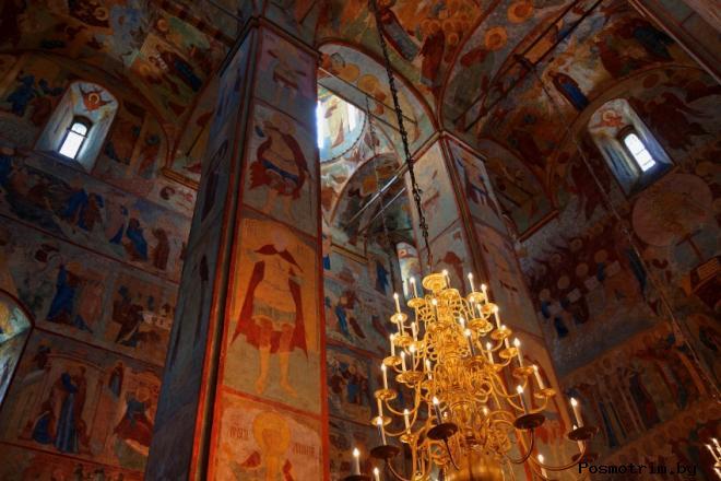 Интерьер Софийского собора в Вологде