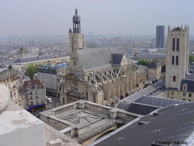 Церковь Сент-Этьен-дю-Мон Достопримечательности