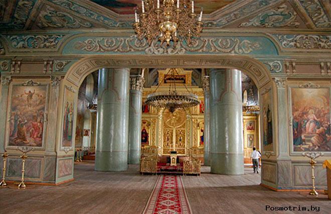 Внутри Спасо-Преображенского собора Тамбова