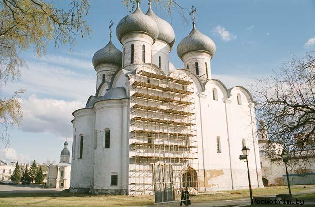 Строительство и освящение Софийского собора в Вологде