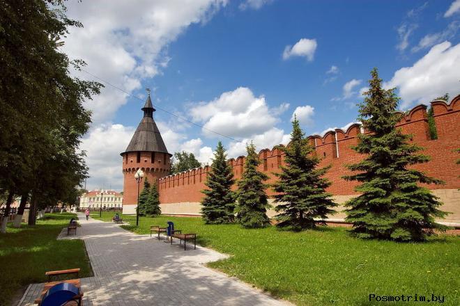 Тульский кремль фото история крепости в Туле