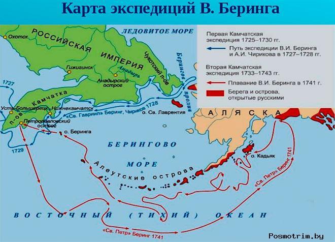 Первая Камчатская Северная экспедиция Беринга