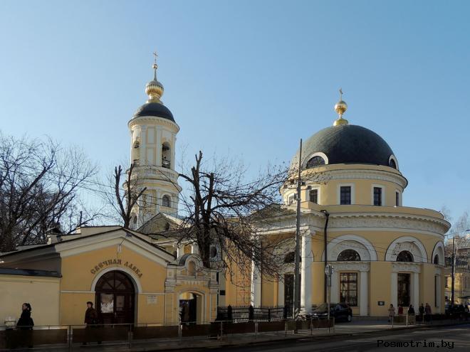 Скорбященская церковь на Большой Ордынке архитектура