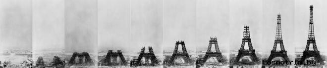 История и строительство Эйфелевой башни интересное и курьёзное о башне