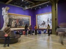 Средний уровень музея Орсе