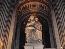 Статуя святой Клотильды