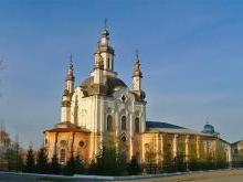 Спасо-Преображенский собор Шадринск