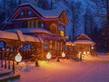 Резиденция Деда Мороза в Беловежской пуще