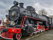 Музей паровозов Брест - музей железнодорожной техники