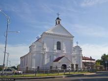 Расположение Костела Святого Михаила Архангела на карте Белоруси, адрес, как добраться самостоятельно