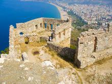 Крепость Алании архитектура крепости Клеопатры