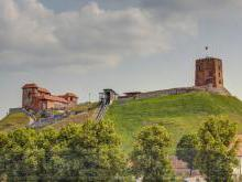 Замок Гедемина - легенда строительства замка князем Гедемином
