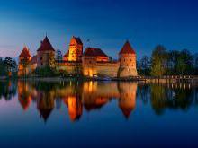 Замок Тракай архитектура Тракайского замка