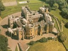 Замок Бельвуар-Касл Англия