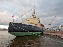 Ледокол «Красин» Петербург