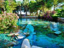Бассейн Клеопатры стоимость и условия купания в бассейне