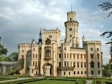 Чешский замок Глубока над Влтавой