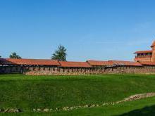 Каунасский замок Литва Каунас история осада замка