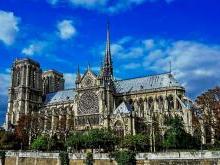 Собор Парижской Богоматери - Нотр-Дам де Пари Париж Франция