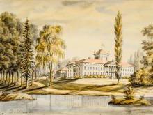 Дворец в Жиличах Жиличский дворцово-парковый комплекс фото история описание