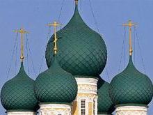 Купола, барабаны и кровля Воскресенского собора Тутаева