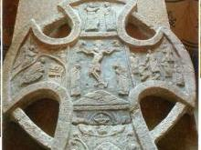 Алексеевский крест Новгородской Софии