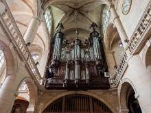 Орган Церкви Сент-Этьен-дю-Мон