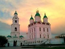 Астраханский Успенский собор вернули верующим в 1992 году