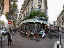 Площадь Сен-Жермен-де-Пре Париж квартал Сен-Жермен-де-Пре Франция