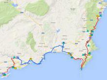 Маршрут «Ликийская тропа» протянулся на 509 км, схемы и карты маршрута
