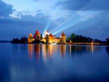 Замок в Тракае история и легенда возведения