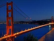 Мост Золотые Ворота в Сан Франциско США
