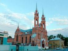 Костел Пресвятого Сердца Иисуса Самара
