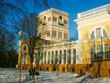 Дворец Румянцевых-Паскевичей Гомель фото история описание